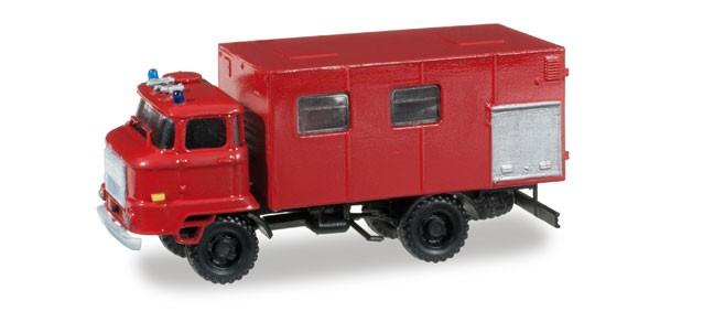 Herpa Minitanks IFA L 60 Gerätekoffer Feuerwehr,