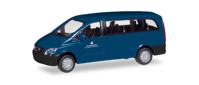 """Herpa Mercedes-Benz Vito Bus """"Bundeswehr"""""""