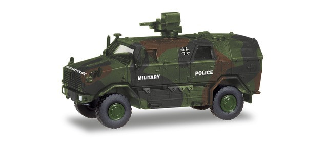 """Herpa ATF Dingo 2 """" Bundeswehr Feldjäger Military Police """", NH 03-04/20,(Vorbestellung / Modell noch nicht lieferbar !!!)"""