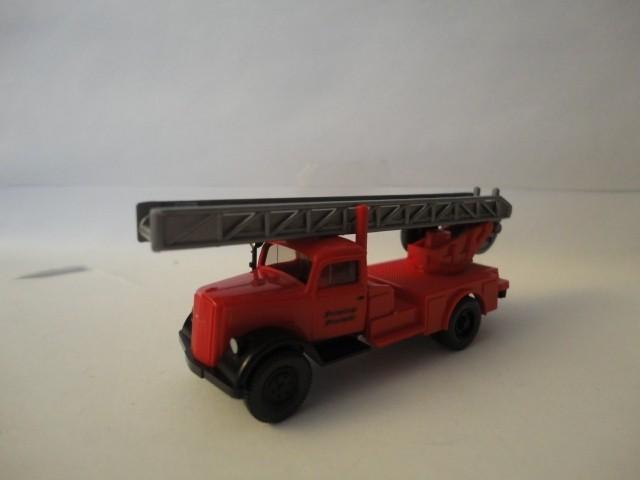Wiking Opel Blitz Feuerwehr-Drehleiter -Einzelstück-