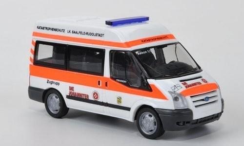 Rietze / Schuco Ford Transit JUH Saalfeld Rudolstadt