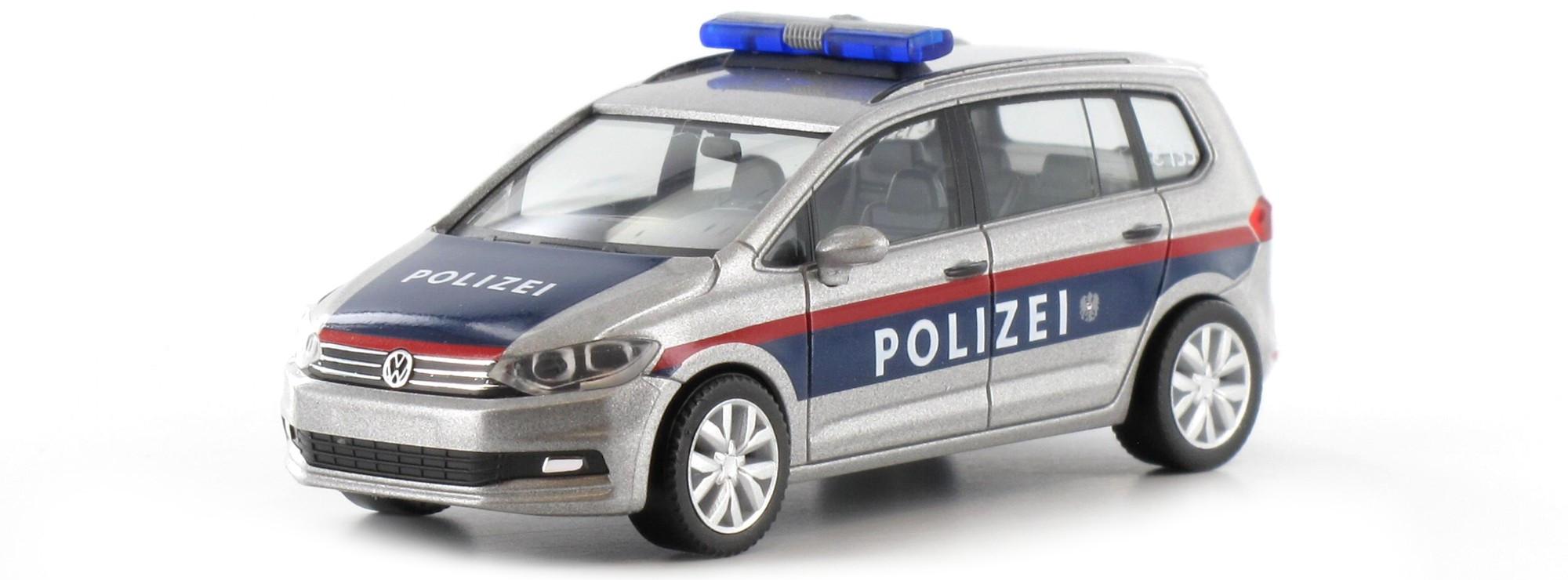 Herpa VW Touran Polizei Österreich -A-