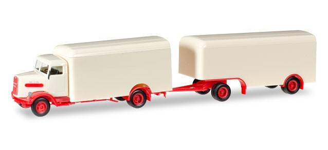 Herpa MAN 750L Koffer Oldtimer -Einzelstück-
