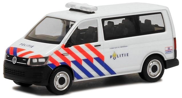 Herpa VW T6 Bus Nederlandse Politie (NL), Sonderposten