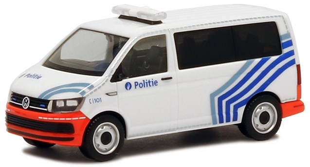 Herpa VW T6 Bus Belgische Politie (B), Sonderposten