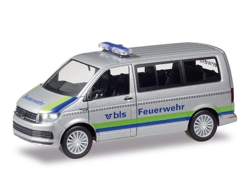 Herpa VW T6 Bus BLS AG Feuerwehr