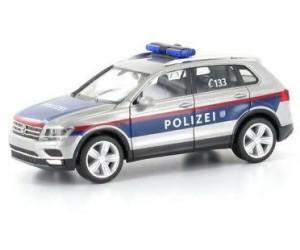 Herpa VW Tiguan Polizei Österreich (Einzelstück)