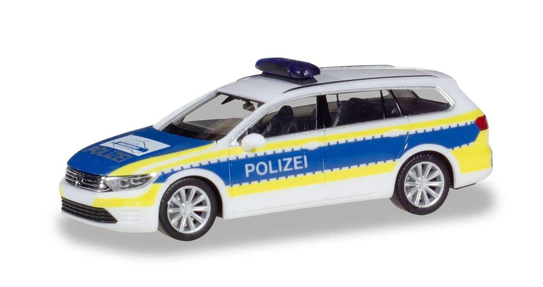 Herpa VW Passat Variant GTE Polizei Gifhorn, Norddeutschlandmodell, NH 12/18