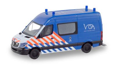 Herpa MB Sprinter 13 Halbbus Merechaussee / Militärpolizei (NL)