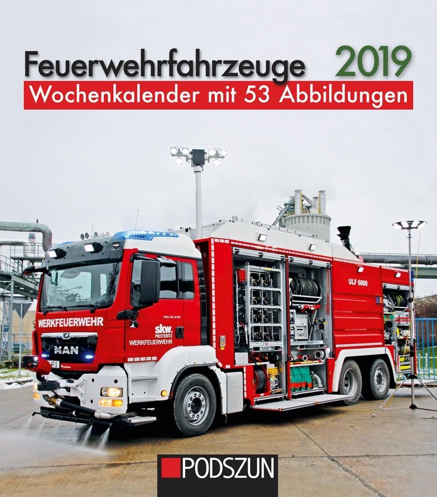 Podszun Verlag Feuerwehrwochenkalender 2019
