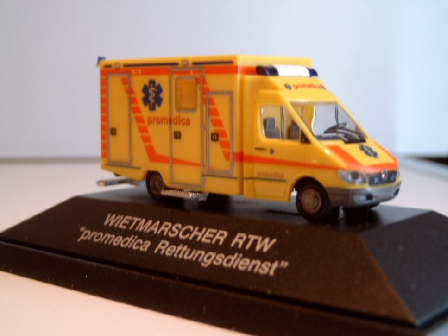 Rietze MB Sprinter RTW Promedica