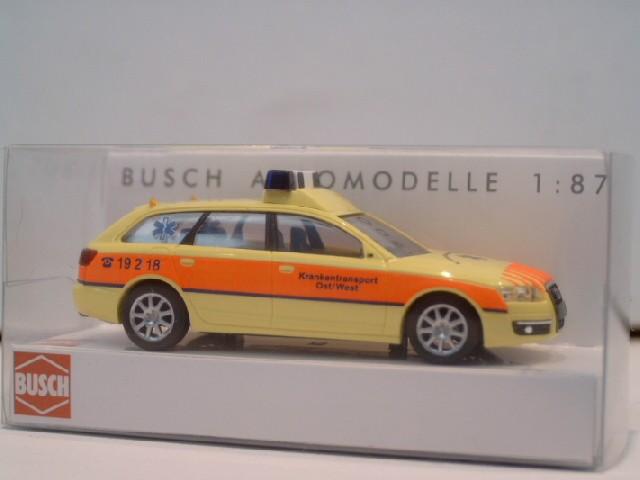 Busch Audi A6 Avant Rettungsdienst Ost / West