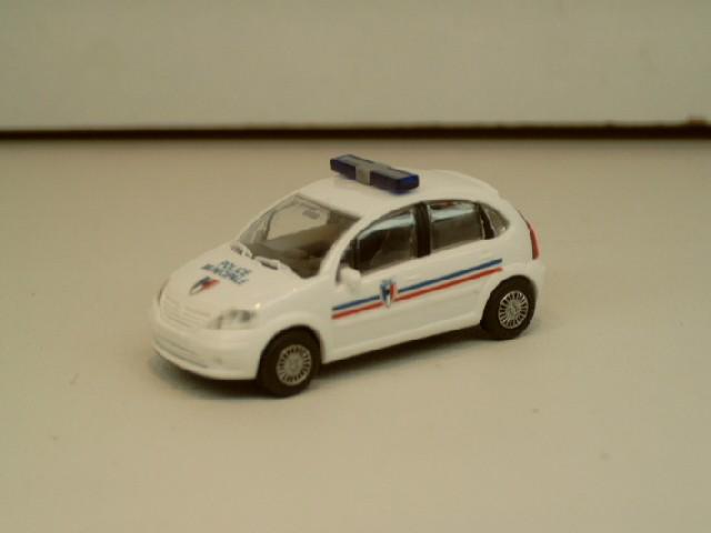 Rietze Citroen C3 Police Municipale (F)