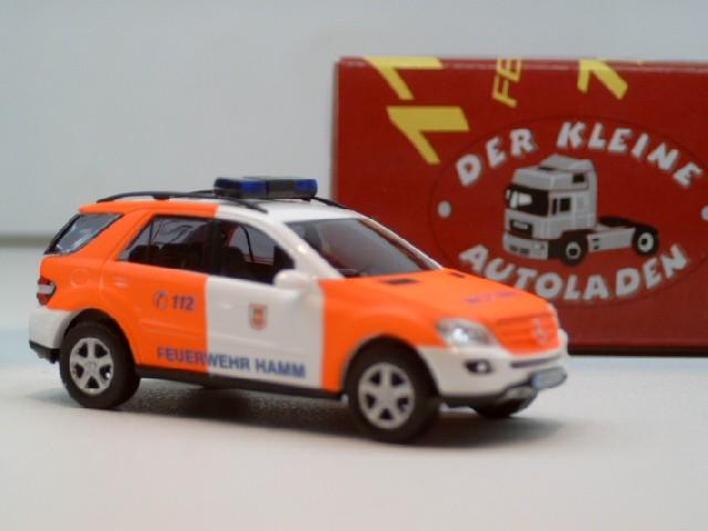 Busch MB ML Klasse Bj 2005 NEF Feuerwehr Hamm HAM 6204
