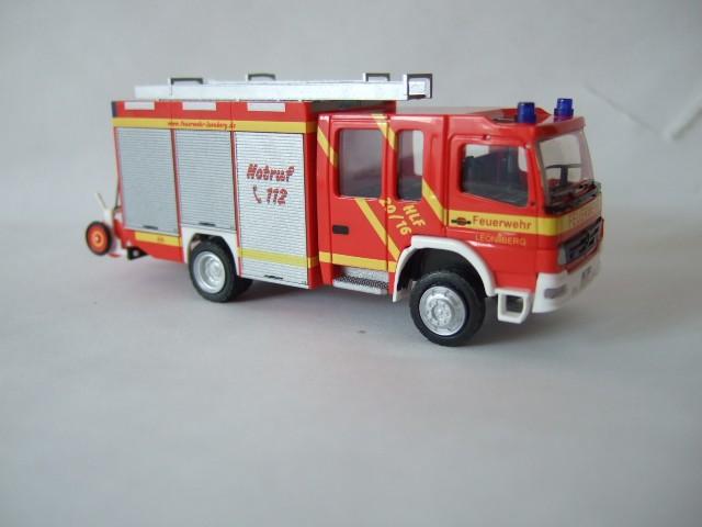 Rietze MB Atego 04 HLF Feuerwehr Leonberg