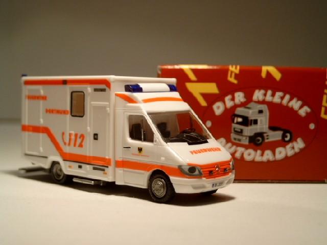 Rietze MB Sprinter ISTW Feuerwehr Dortmund