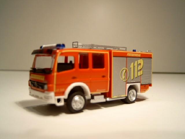 "Rietze MB Atego FL LF 10/6 Zwillingsbereift ""112"""