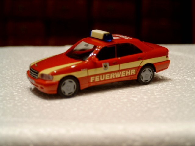 Herpa MB C-Klasse KDOW Feuerwehr Dortmund