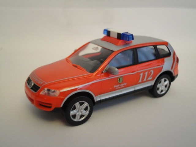Wiking VW Touareg Feuerwehr Leipzig