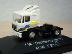 Herpa MAN F 90 ZM  IAA-Nutzfahrzeuge ´92 -PC- (Einzelstück)