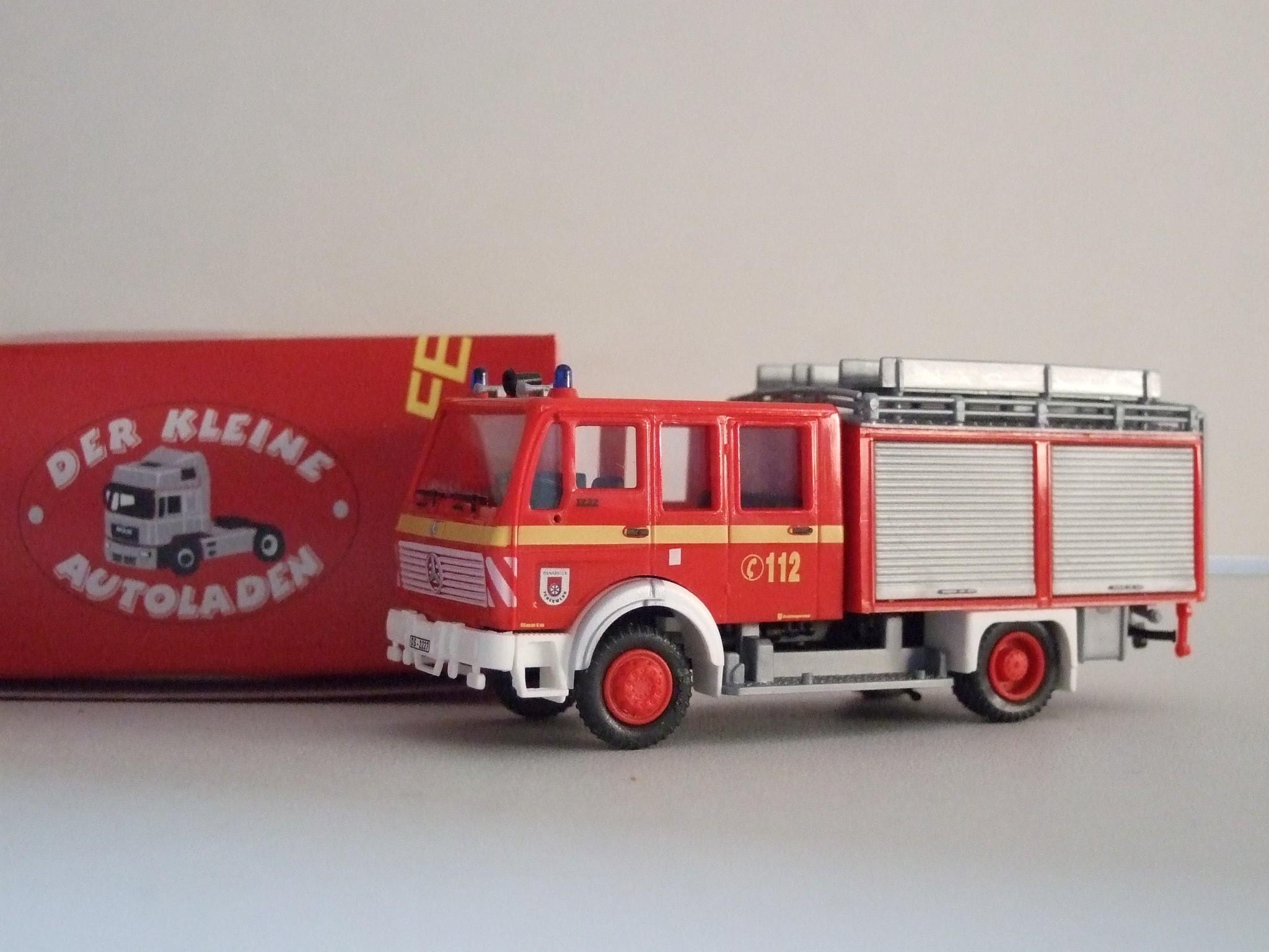 Rietze/Preiser  MB 1222 TLF 16/25 Feuerwehr Osnabrück Sutthausen