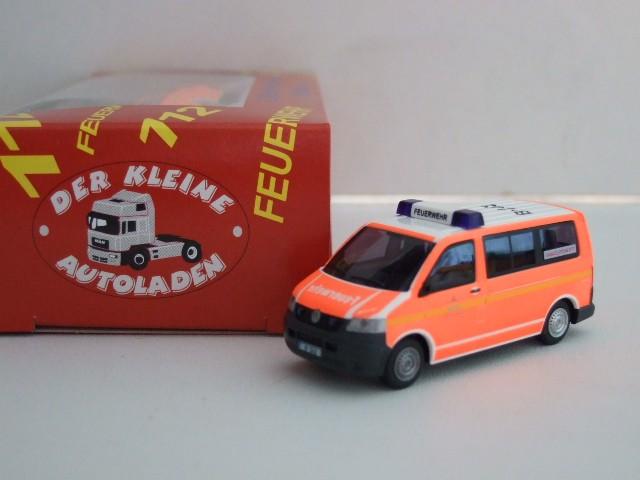 Rietze VW T5 KR ELW Berliner Feuerwehr / BF Marzahn