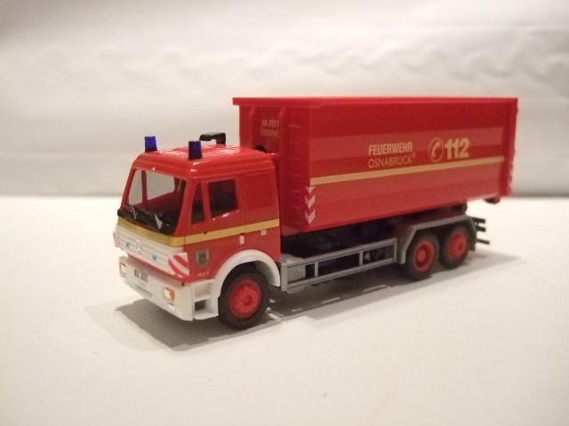 Herpa MB SK 94 WLF 4 Berufsfeuerwehr Osnabrück, AB-Fest / Überfass