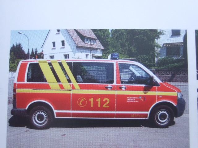 Rietze VW T5 Bus MTF Feuerwehr Dreieich Buchschlag