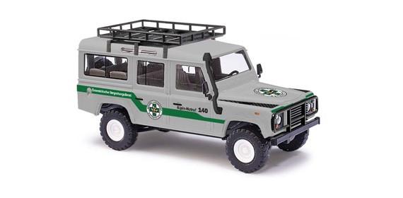 Busch Land Rover Defender Bergrettung Nr. 5 Salzburg, Restmenge