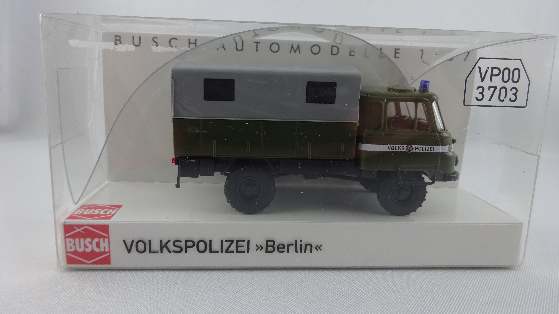 Busch Robur LO 2002 A Volkspolizei Bezirk Berlin (Einzelstück)