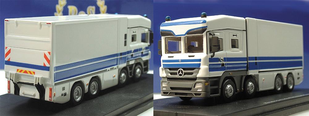 BOS Modelle MB Actros, Achleitner Polizei Geldtransporter, Deutsche Bundesbank