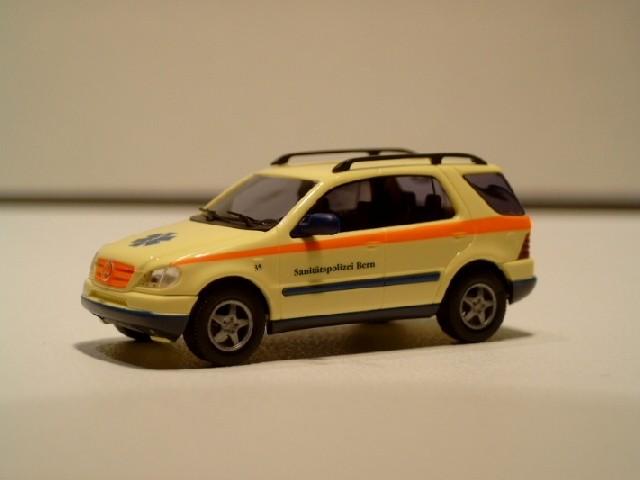 Busch MB ML-Klasse Sanitätspolizei Bern