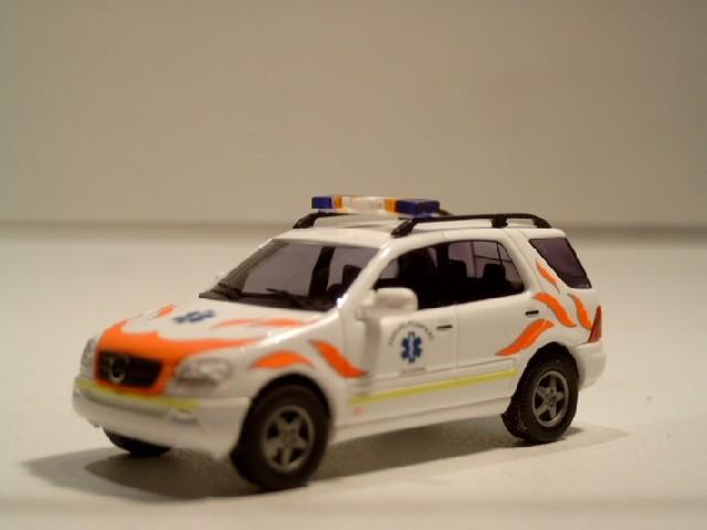 Busch MB ML NEF / Feuerwehr Lausanne ( Schweiz )
