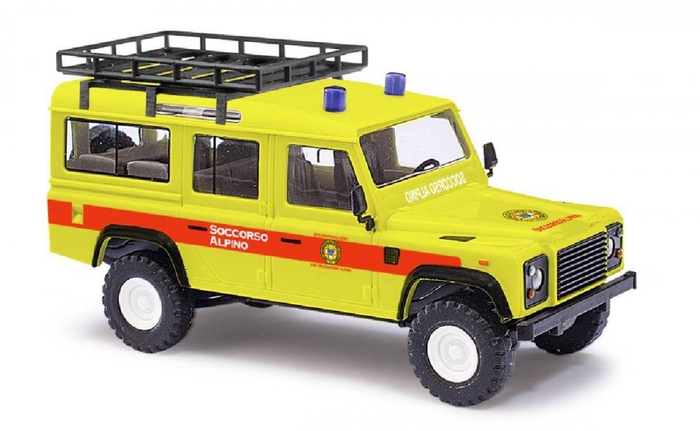 Busch Land Rover Defender Bergrettung Nr. 6 Italien, Restmenge