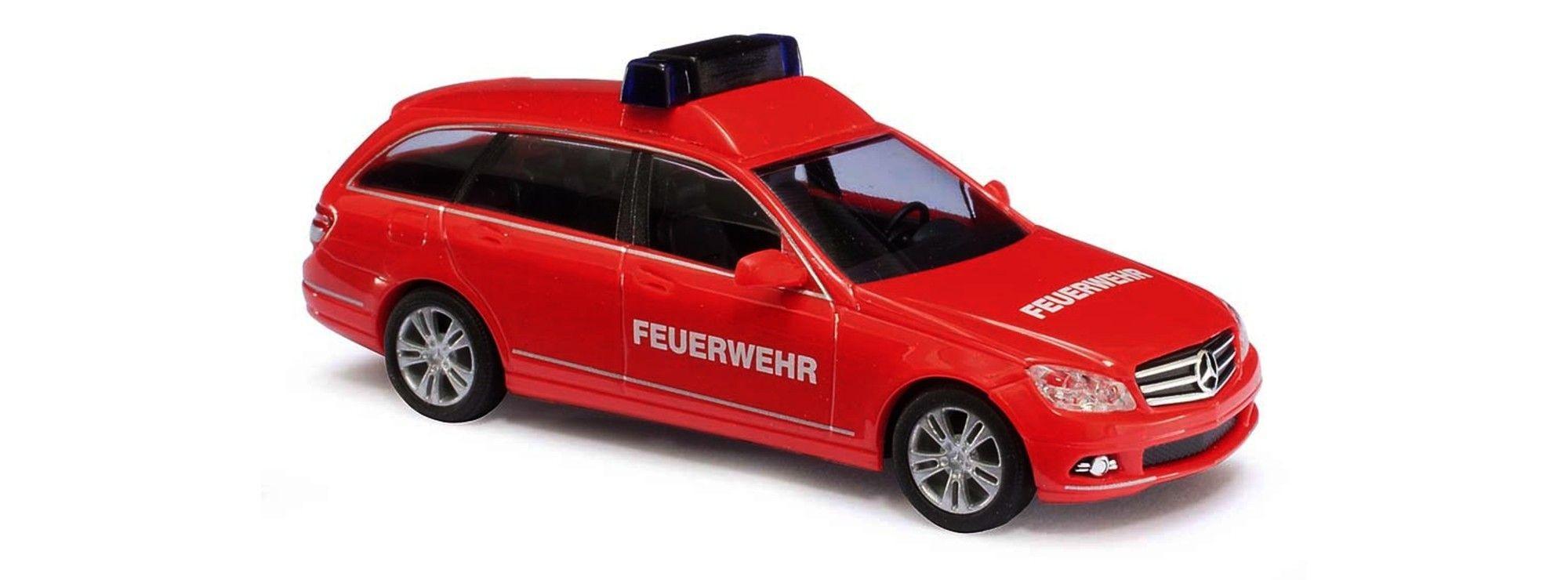 Busch MB C-Klasse T-Modell Feuerwehr
