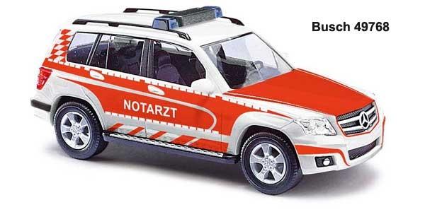 Busch MB GLK Notarzt