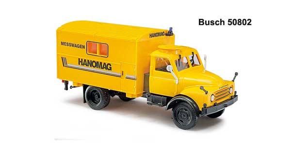 Busch Hanomag AL 28 MKW Messwagen