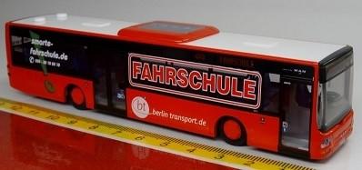 Rietze MAN Lion´s City Ü: Smarte Fahrschule BT Berlin Transport,Sondermodell
