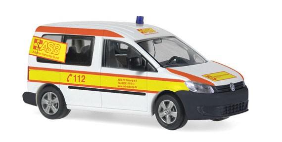 Rietze VW Caddy 11 ASB Coburg, Restmenge