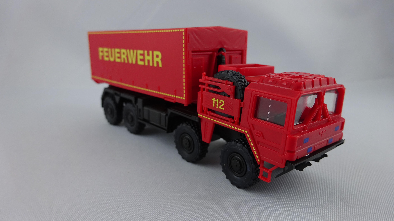 Herpa / ROCO MAN Multi WLF Feuerwehr