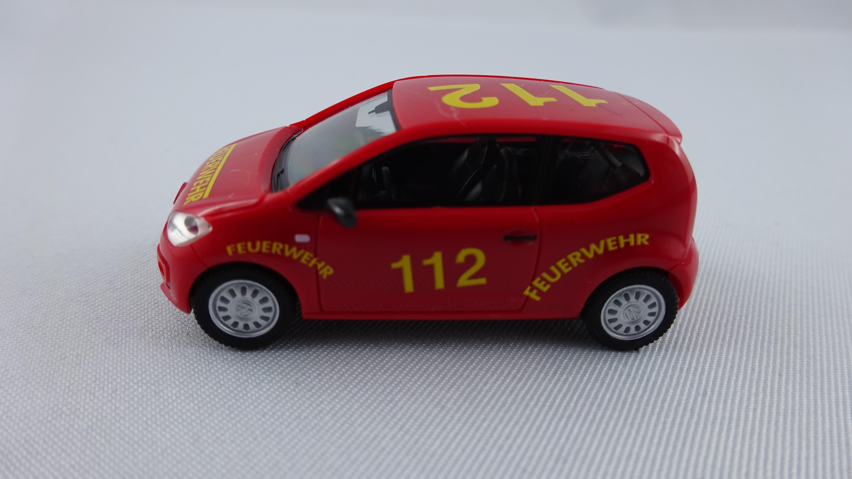 Herpa VW UP Feuerwehr Hamburg