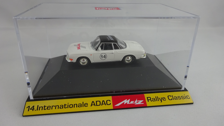 Herpa VW Karmann Ghia Metz Rallye -Einzelstück-