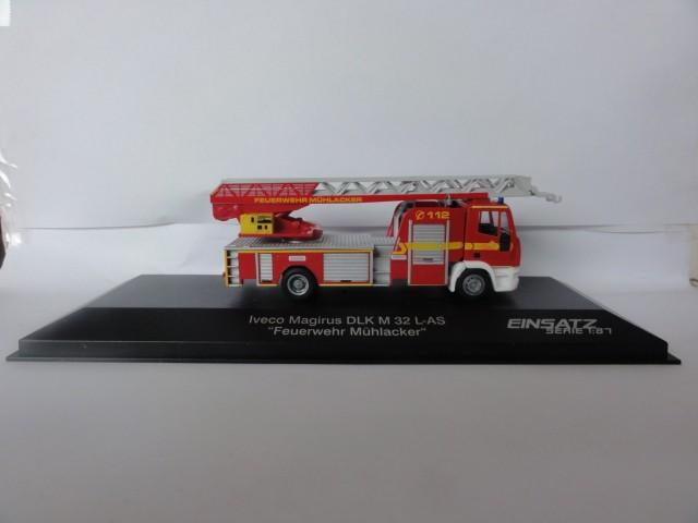 Rietze IVECO DLK 32 Feuerwehr Mühlacker