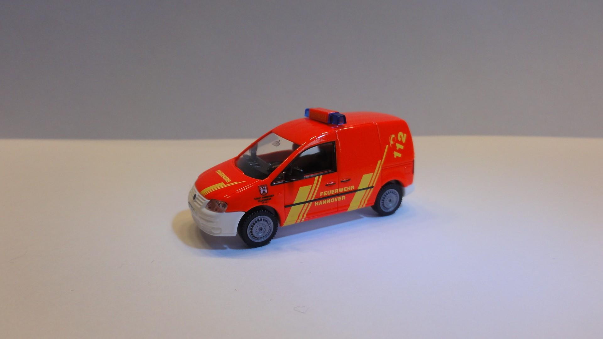 Wiking VW Caddy Feuerwehr Hannover GW FN-3
