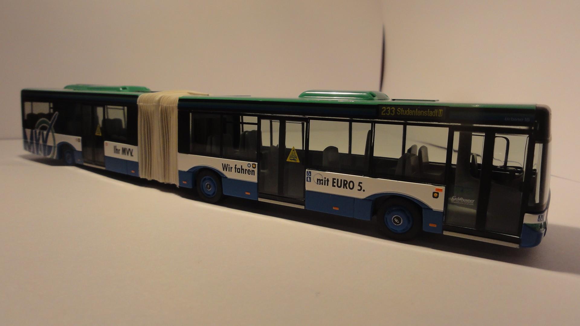 VK-Modelle Solaris Urbino 18 MVV München Linie 233 Studentenstadt U -Einzelstück-