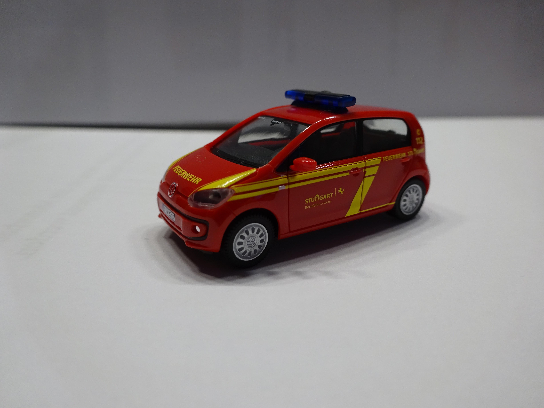 Herpa VW Up Feuerwehr Stuttgart