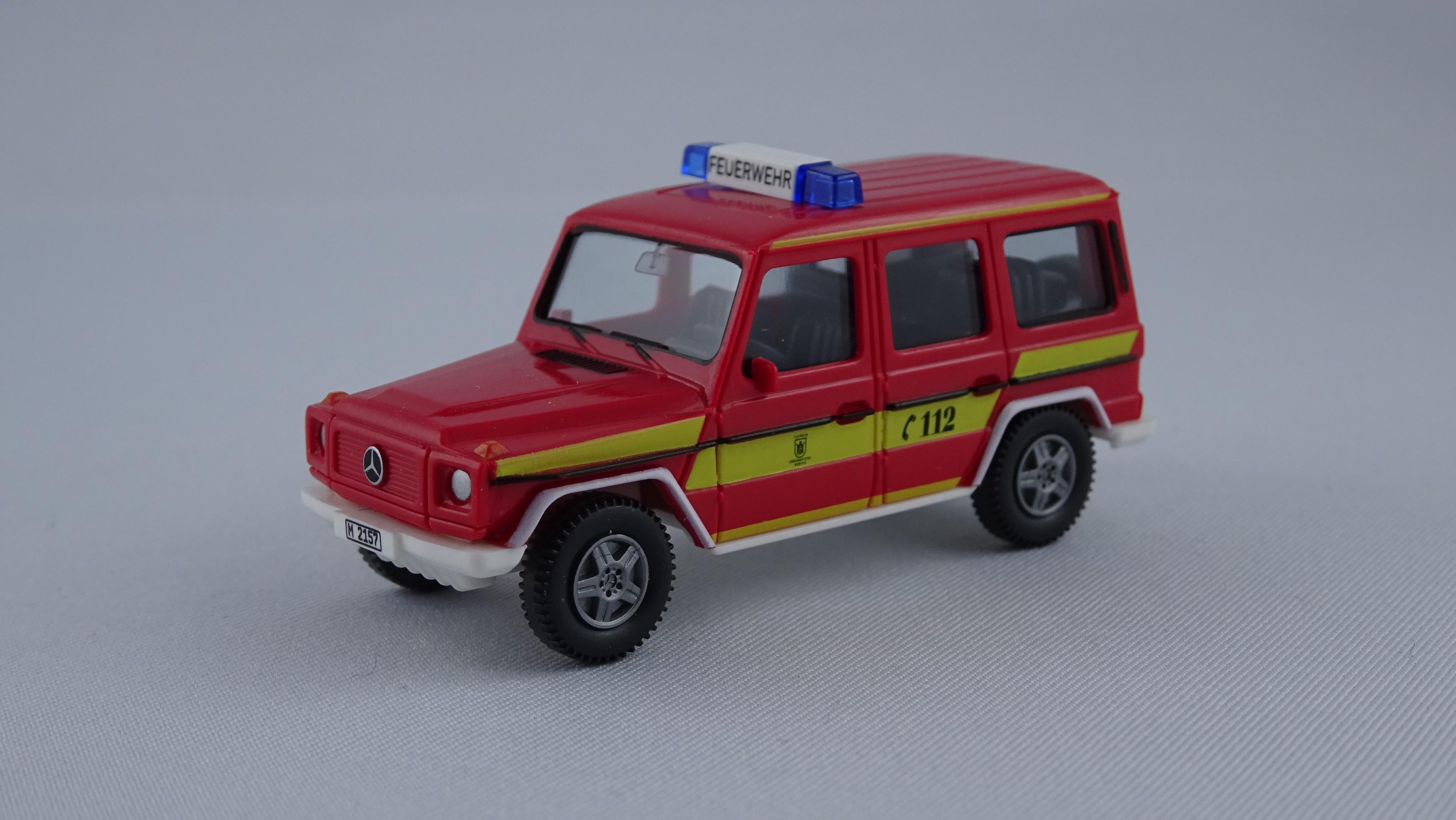 Wiking MB G-Modell ELW Feuerwehr München