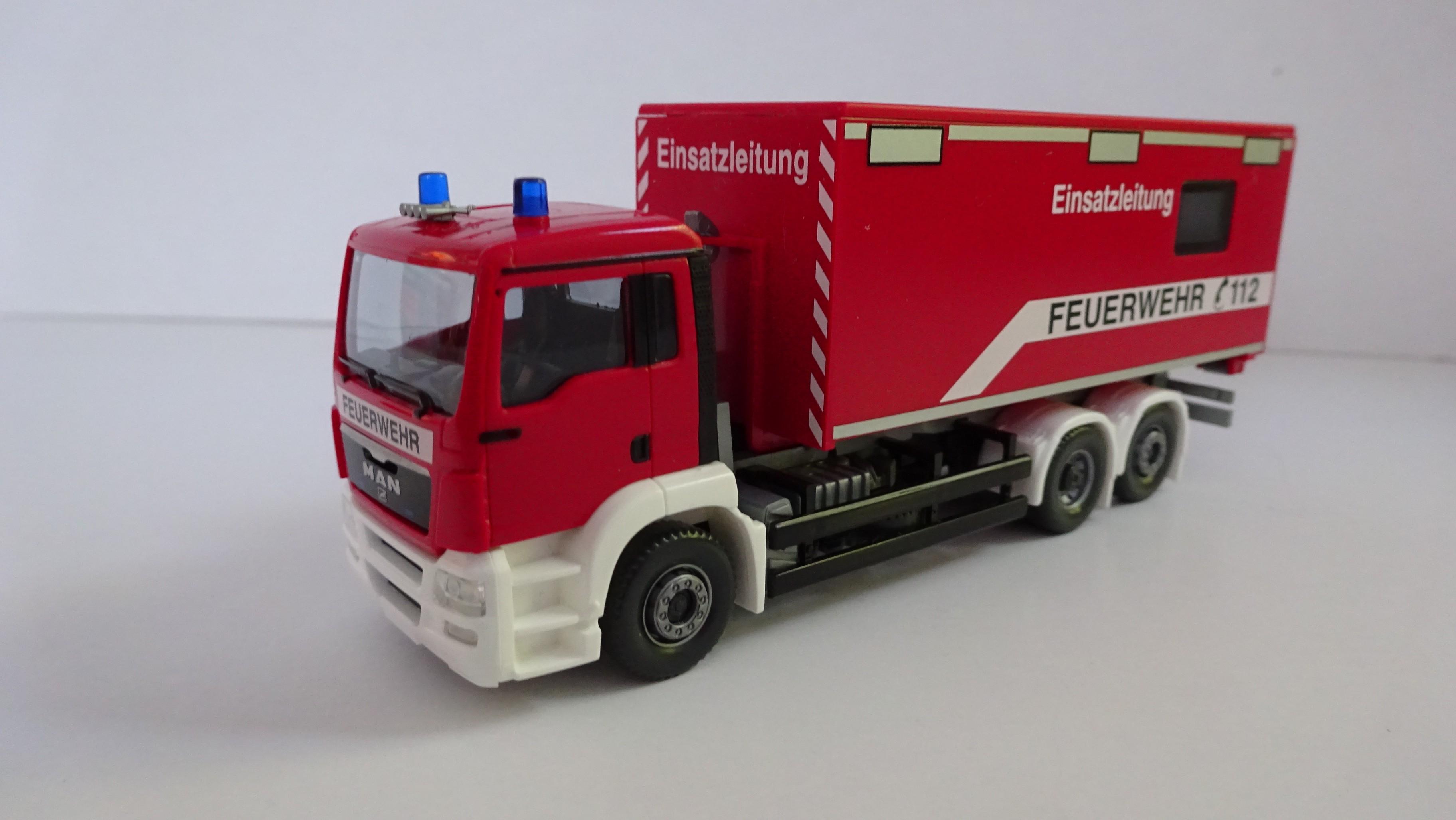 Wiking MAN TGS WLF Feuerwehr Einsatzleitung Interschutz 2015