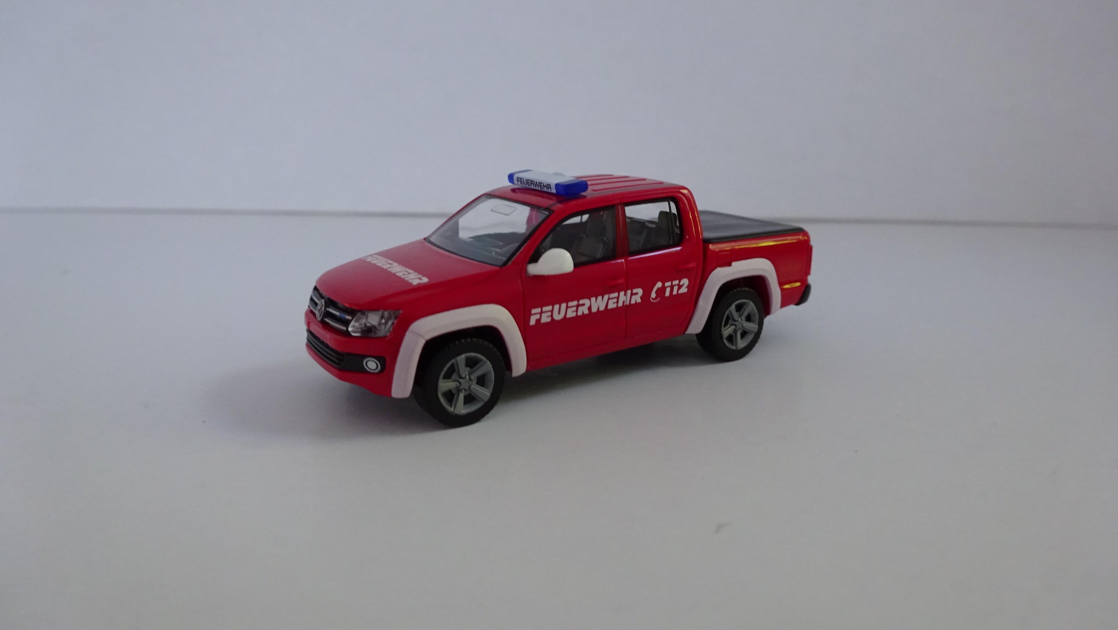 Wiking VW Amarok Feuerwehr Interschutz 2015