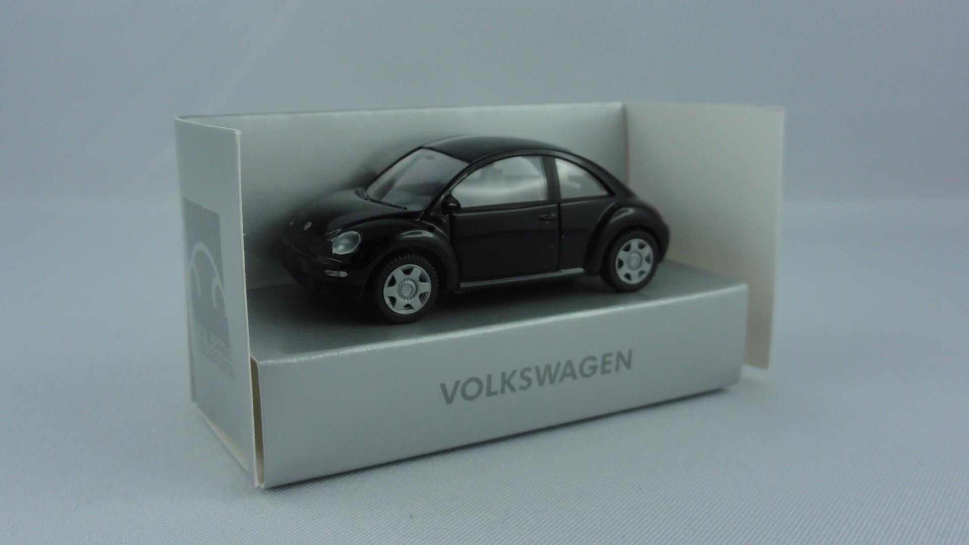 Wiking VW New Beetle, schwarz-Einzelstück-